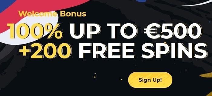 Deposit $20 and get 100% bonus!