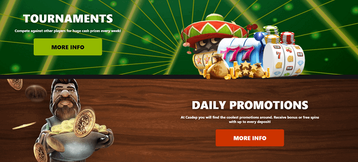 Tournaments & Daily Promotions