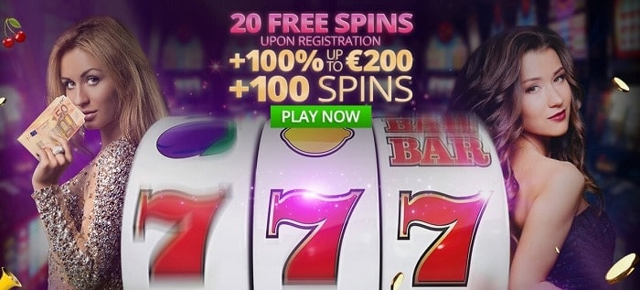 20 free spins bonus