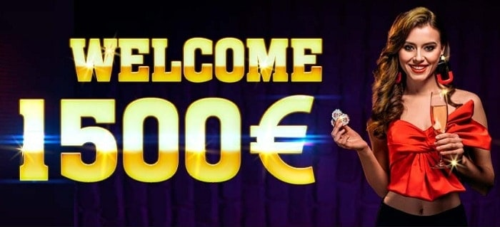 1500 EUR free cash welcome bonus