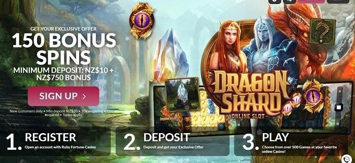 Register! Deposit! Play!