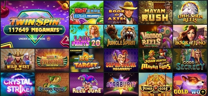 Whamoo Casino Games and Live Dealer