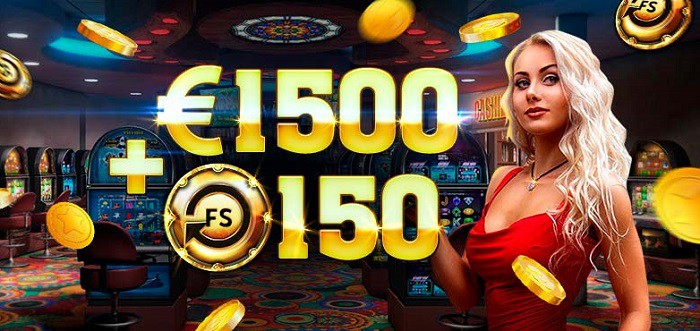 1500 euro and 150 free spins welcome bonus