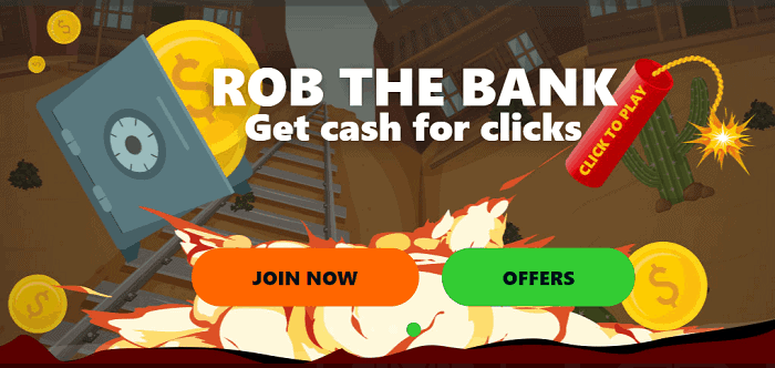 Rob The Bank Promotion