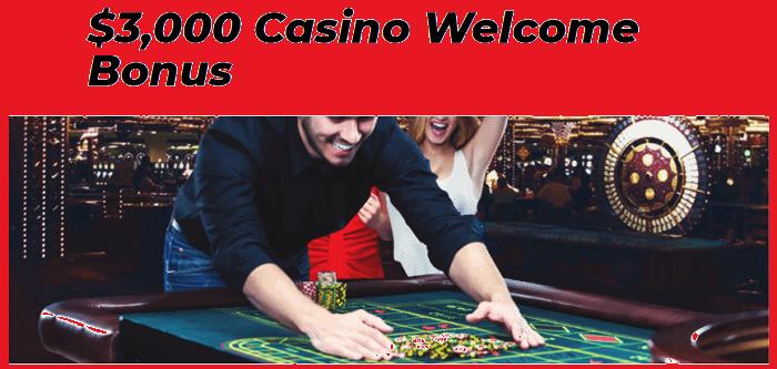 Claim $3000 Welcome Bonus on Casino Games!