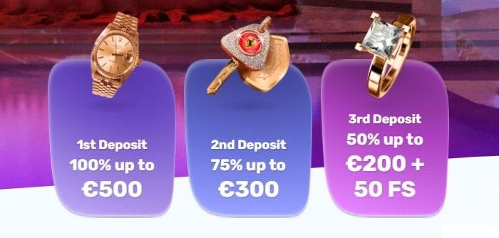 SlotsPalace Welcome Bonuses