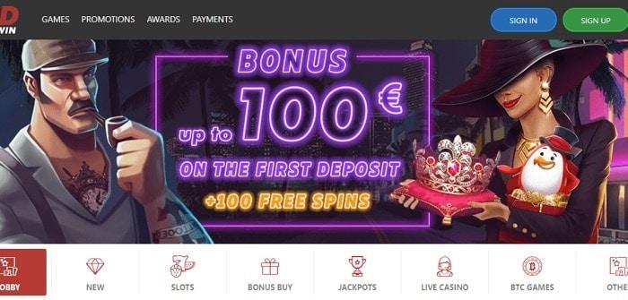 100 euro free bonus and 100 gratis spins