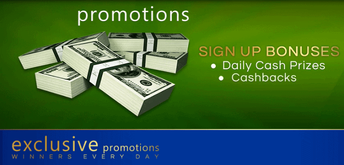 Exclusive Promotions and Bonuses