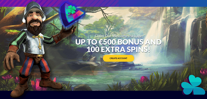 Get 100 Free Spins and 100% Welcome Bonus!