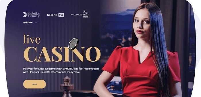 Live Casino and Real Dealer