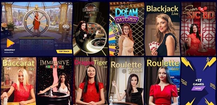 Boka Casino Live Dealer