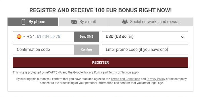 Register with bonus code: FREESPINS50