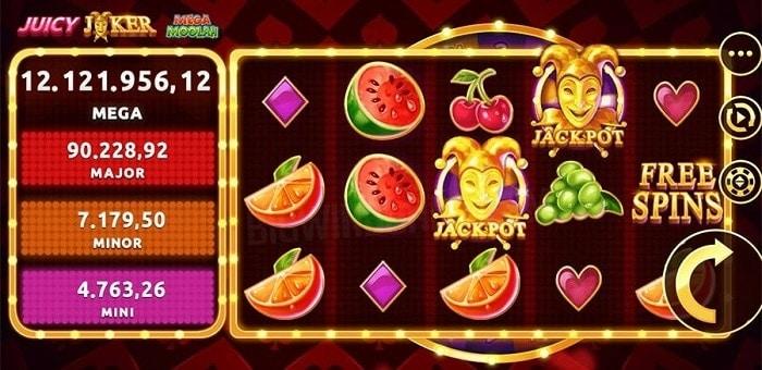 Juicy Joker Free Spins Bonus