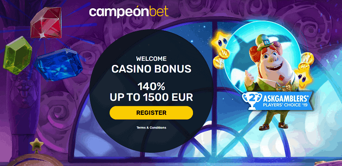 Campeon Casino Free Bonus