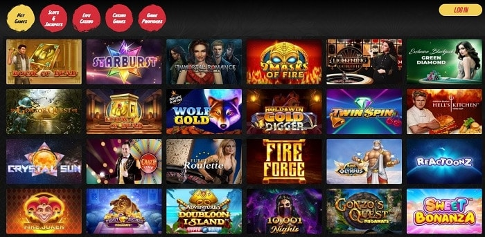 Try slots with free spins