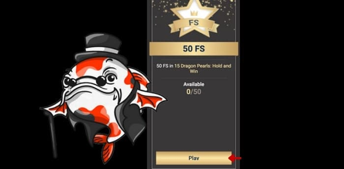 50 exclusive free spins