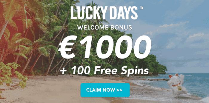 Get 1000 EUR welcome bonus now!