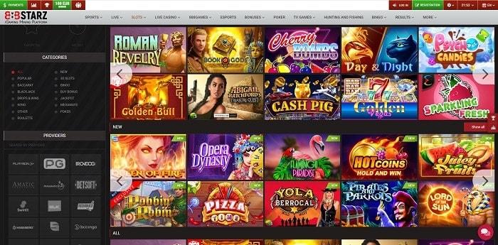 888Stars Casino Bonus Code