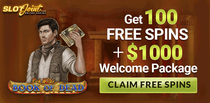 100 free spins on Book of Dead