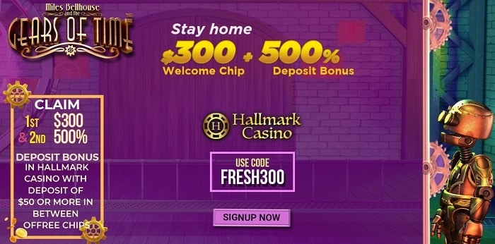 Hallmark Welcome Bonus