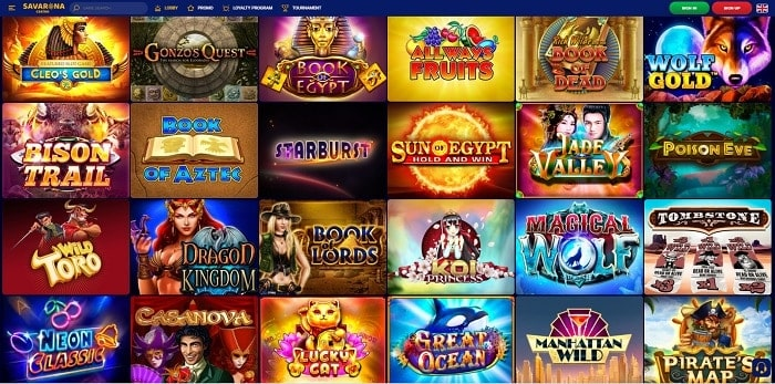 Savarona Casino Games