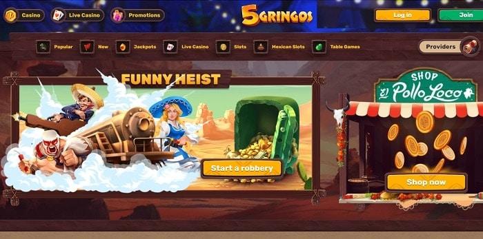 5Gringos Promotion