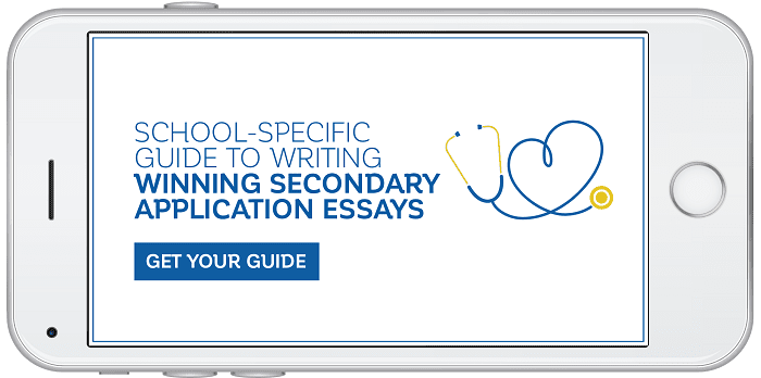 Get your guide to writing winning secondary application essays!