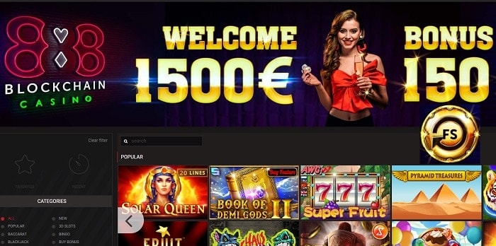 Collect 1500 EUROS and 150 free rounds!