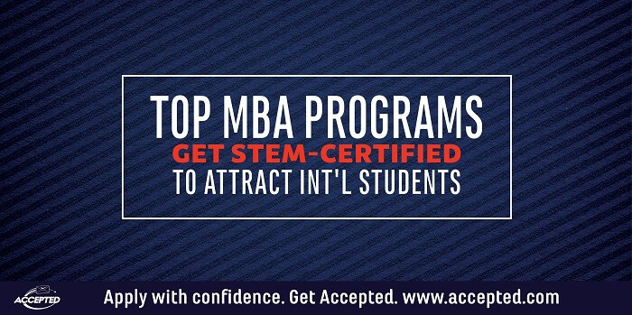 Top MBA Programs get STEM-Certified to Attract International Students