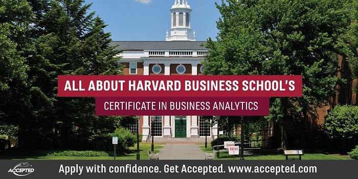 All about HBS's certificate in business analytics