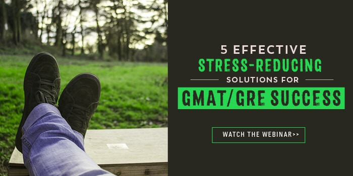 5 Effective Stress Reducing Solutions for GMAT/GRE Success