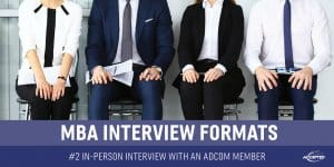 In-Person Interview With an Adcom Member