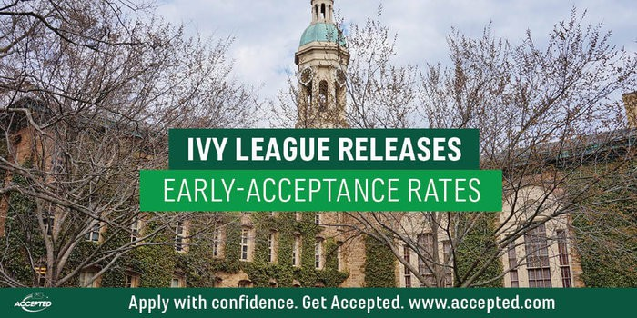 Ivy League Releases Early-Acceptance Rates