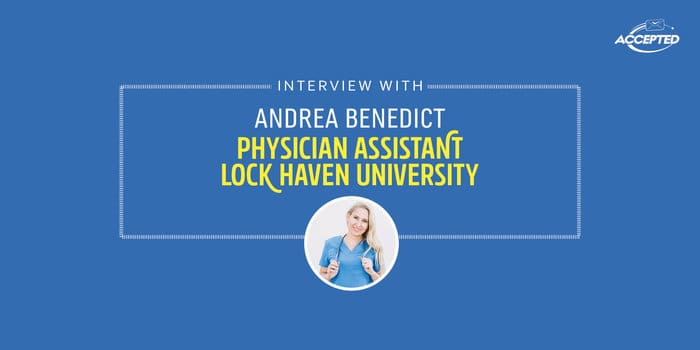 Interview with a Physician Assistant - Andrea Benedict