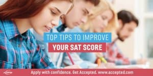 Top tips to improve your SAT scores