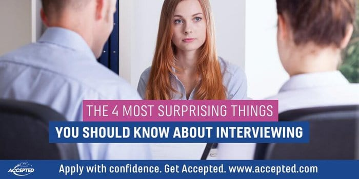 The 4 Most Surprising Things You Should Know About Med School Interviewing