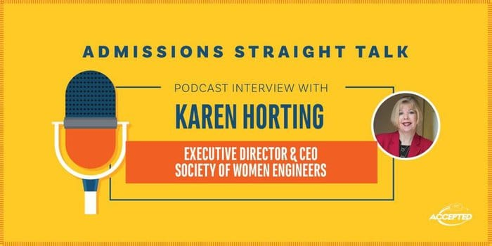 Podcast Interview with Karen Horting - Executive Director & CEO, Society of Women Engineers