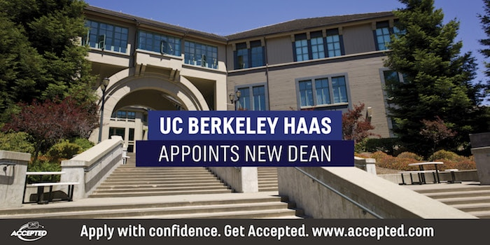 UC Berkeley Haas Appoints New Dean
