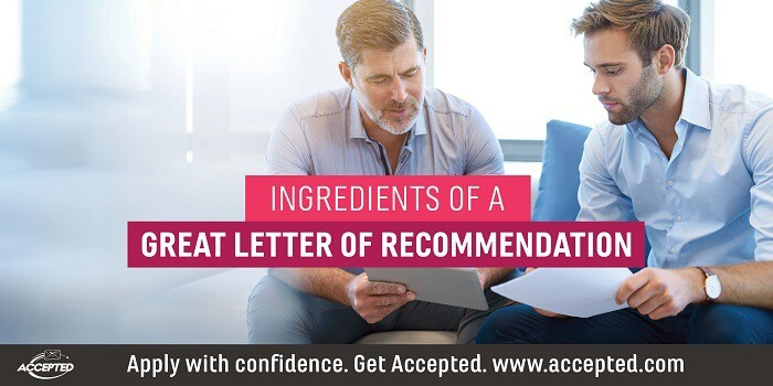 Ingredients of a Great Letter of Recommendation