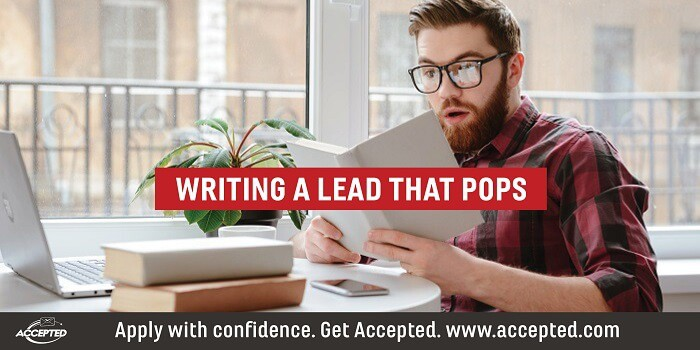 Writing a Lead that Pops