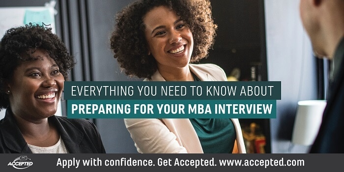 Everything You Need to Know About Preparing for Your MBA Interview. Need more MBA Interview advice? Click here for a free MBA interview guide!