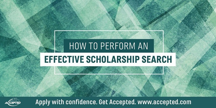 How to perform an effective scholarhip search
