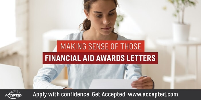 Making sense of those financial aid award letters
