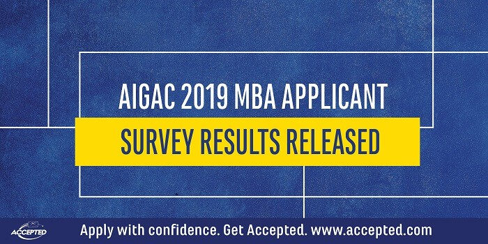 AIGAC 2019 MBA Applicant Survey Results