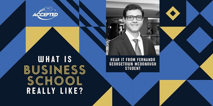 What is business school really Like? Hear it from Fernando!
