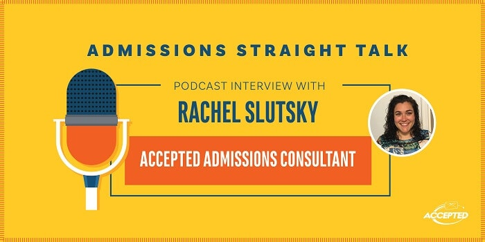 Podcast interview with Rachel Slutsky
