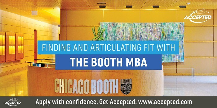 Finding and Articulating Fit with the Booth MBA