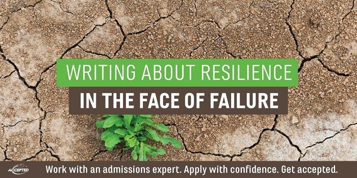 Writing About Resilience in the Face of Failure