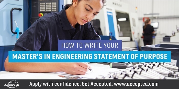 How to Write Your Masters in Engineering Statement of Purpose