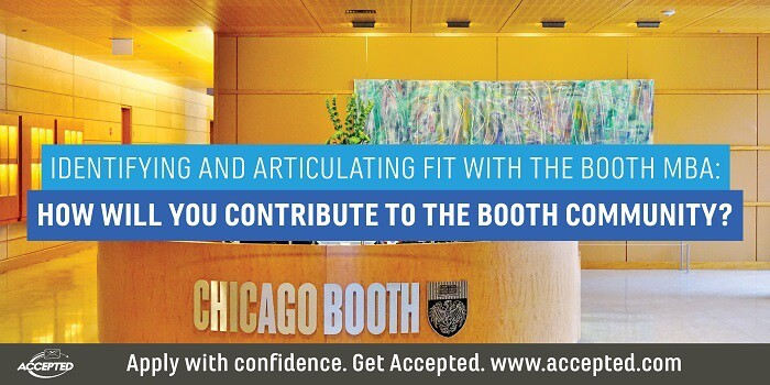 How will you contribute to the Booth community?
